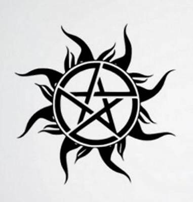 Supernatural Vinyl Wall / Car / Window Sticker Decal Removable Art Decoration UK