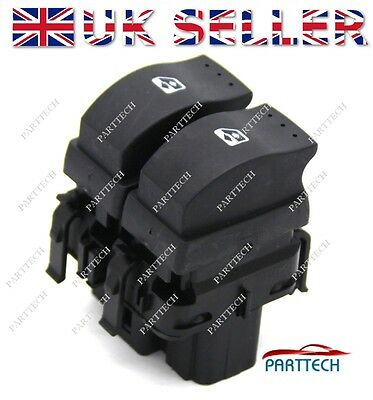RENAULT CLIO MK2 on 1998 POWER MASTER WINDOW SWITCH CONSOLE 8200060045