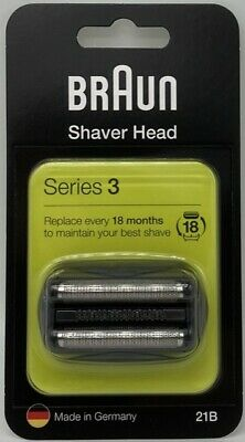 Braun Series 3, Foil and cutter cassette 21b, sent from Bristol