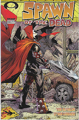 Spawn 223 - Walking Dead Cover (Modern Age 2012) - 9.0