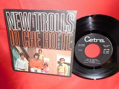 NEW TROLLS Io che ho te + Lei mi diceva 7' + PS 1969 ITALY MINT- Rare It Prog