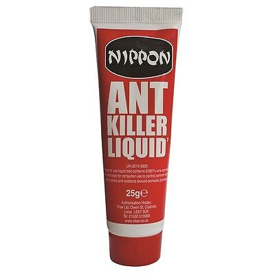 Nippon Ant Killer Liquid 25g Controls Ants Around The Home Destroys Colonies