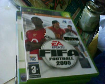 Xbox Game Version Of Fifa Football 2005 Complete