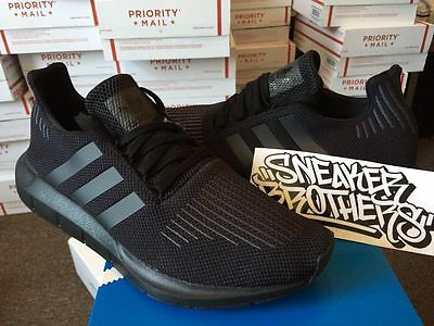 26fb3df79037 Adidas Swift Run Triple Black Core Utility Running CG4111 Boost NMD Ultra  Iniki