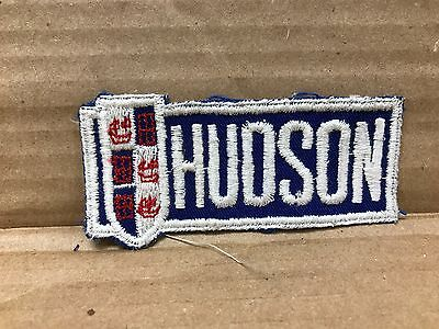"Vintage Original 1940/50's Embroidered Hudson Jacket Patch 4"" X 1.75"""