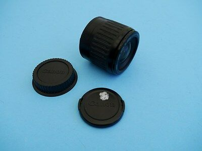 CANON EF f1:4-5.6/35-80mm LENS  w/END CAPS