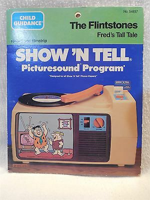 Flintstones 1984 Child Guidance Show 'N Tell Record Film - Fred Learns to Share