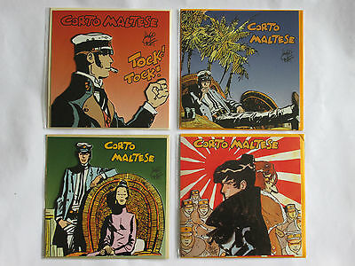 Cartes Corto Maltese cartes postales BD Pratt lot neuf 3D rare stock France