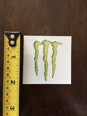 Monster Energy Drink Claw Logo Temporary Tattoo