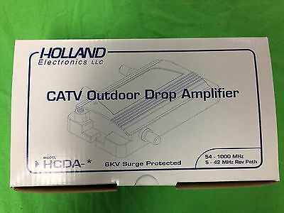 Holland HCDA-2 CATV Outdoor Drop Amplifier