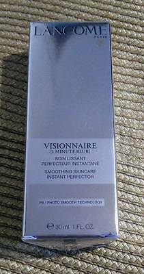 LANCOME Visionnaire 1 Minute Blur Smoothing Skincare 30ml SEALED