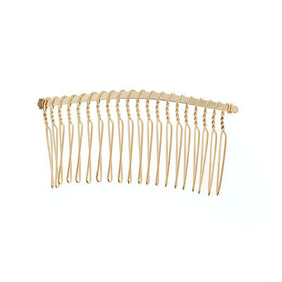 6 pcs - Gold Hair Combs Hair accessories Hair findings Hair supplies
