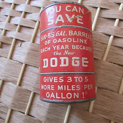 The New Dodge Red Oil Barrel Collectible Bank