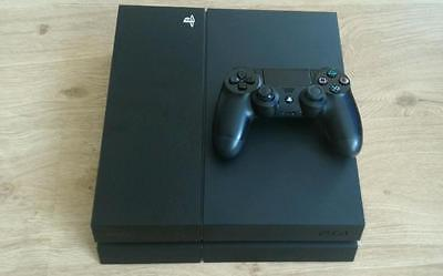 Sony PlayStation 4 - 500 GB Black Console PS4 ***Good Used Condition***
