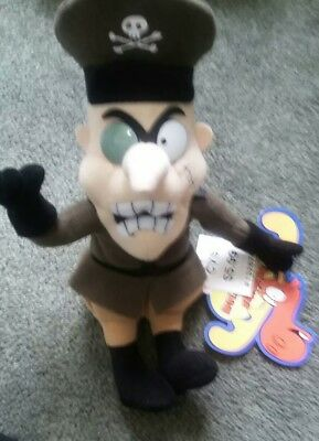 """Fearless Leader 1999 CVS 6"""" Rocky and Bullwinkle and Friends w/ tag"""