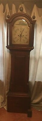 English Bell Grandfather Clock 1600's