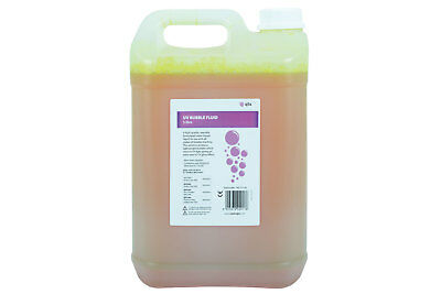 QTX UV Bubble Fluid, 5 litre NEW