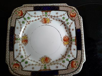 Set Of Four Lovely  Plates Made By Burgess Bros Of England