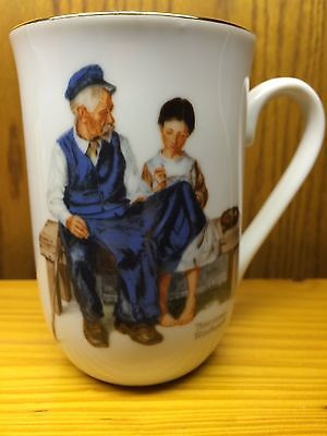 Cup Mug Norman Rockwell Museum Collection 1982