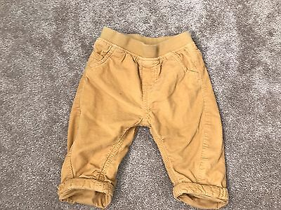 Next UK Corduroy trousers size 6 - 9 months