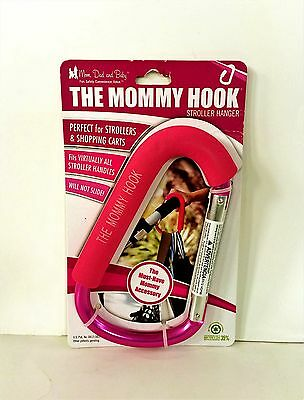 The Mommy Hook Stroller Accessory, Pink