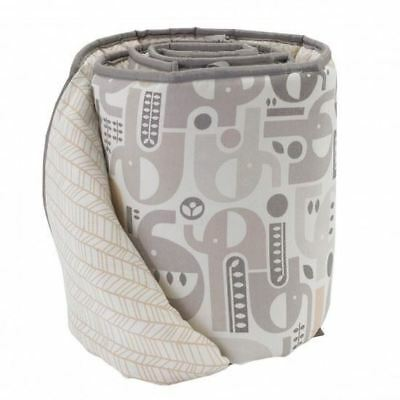 Living Textiles Lolli Living 2pc Bumper Set -Elephant
