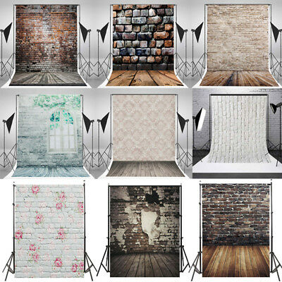 Multi-Types Brick Wall Vinyl Photography Backdrop Photo Background Studio Props