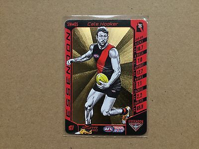2016 AFL Teamcoach Star Wildcard (SW 05) Cale Hooker Essendon Bombers