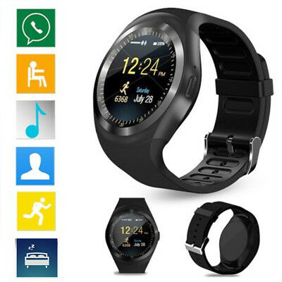 Y1 Bluetooth  Smart Watch Phone Fitness Tracker for Android Samsung iPhone IOS