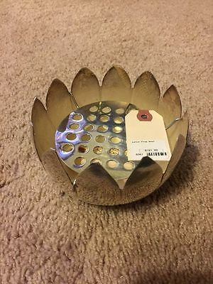 Silver Plated Lotus Flower Bowl Ashtray $ 190 MSRP