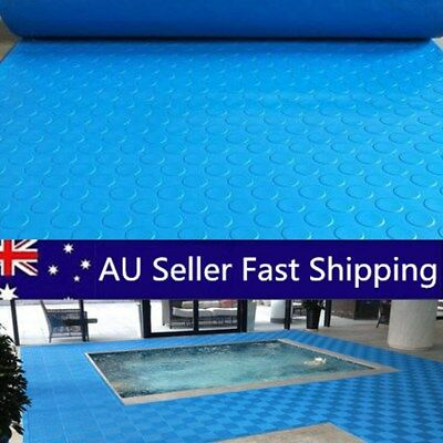 Above Ground Swimming Pool Blue Ladder Mat Or Step Pad - (Various Sizes) AU
