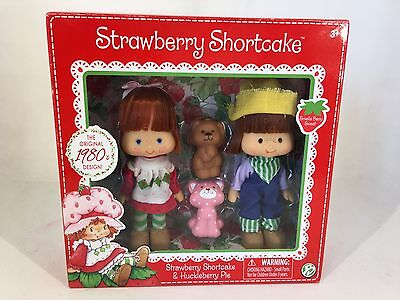 Classic Strawberry Shortcake & Huckleberry Pie - 35th Anniversary Dolls - NEW