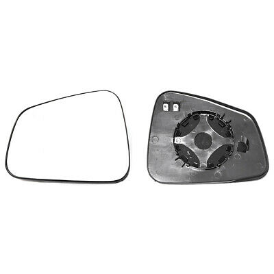 Right Driver Side Heated Mirror Glass for Vauxhall Mokka 2012-2019 0424RSH