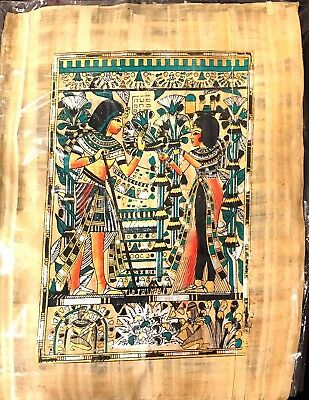 Hand made Egyptian brand new Pharaonic Papyrus Egyptian Culture. Monument
