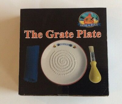 New The Grate Plate Smoke And Roast Grating Garlic Ginger Nutmeg Nuts