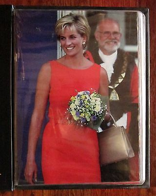 Diana Princess Of Wales Daily Telegraph Portraits In Album + 1998 Calendar