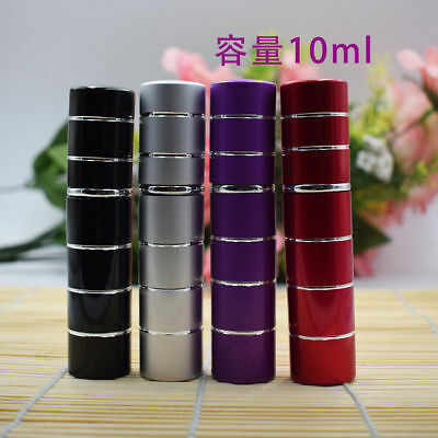 10ml Empty Atomizer Refillable Perfume Travel Spray Bottle Glass Aluminum mini