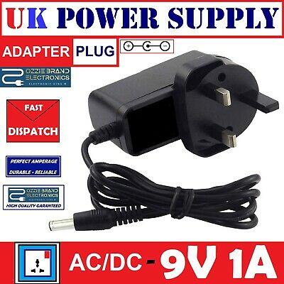 Uk 9V Ac/dc Power Supply Adapter For Boss Psa-240 Psa240 Guitar Effects Pedal