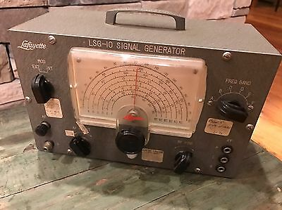Vintage Lafayette Signal Generator - Rare - LSG-10 - Powers On