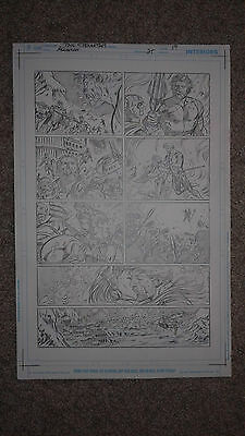 Pelletier AQUAMAN 25 pg 19 AQUAMAN & MERA KISS - DEATH OF KING FINALE