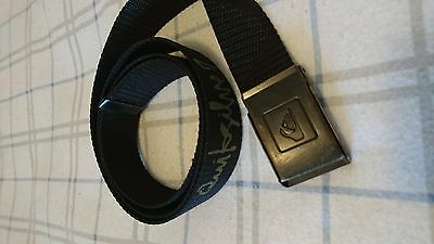 Brown Casual Quiksilver Skate Belt Men's Teens Boys Quik Silver Surf