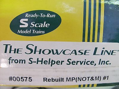 S-Helper Steel Rebuilt Box Car #00575 M.P. #1