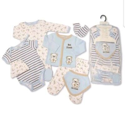 Baby Boys Lovely 7 Piece Layette Gift sets ☆
