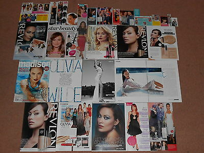 30+ OLIVIA WILDE Magazine Clippings