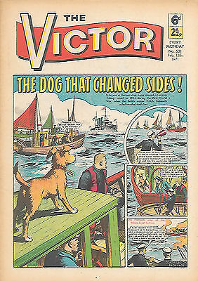 The Victor 521 (Feb 13, 1971) very high grade copy