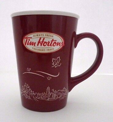 2010 Tim Horton's Limited Edition Red #010 Always Fresh w/Maple Leafs (16 ounce)