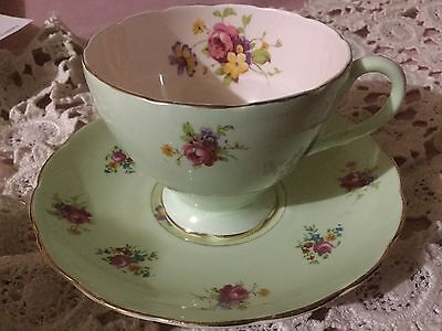 Foley Bone China  Cup And Saucer England