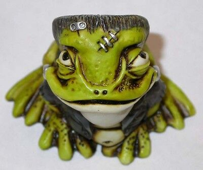 Harmony Kingdom Artist Neil Eyre Halloween Frankenstein Frog Toad LE 50