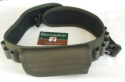 **New**Percussion 20 Shell Green Cartridge Belt with Front Pouch