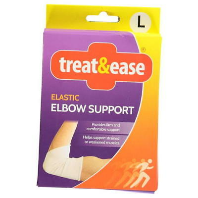Treat & Ease Elastic Elbow Support Helps with strain or weakness